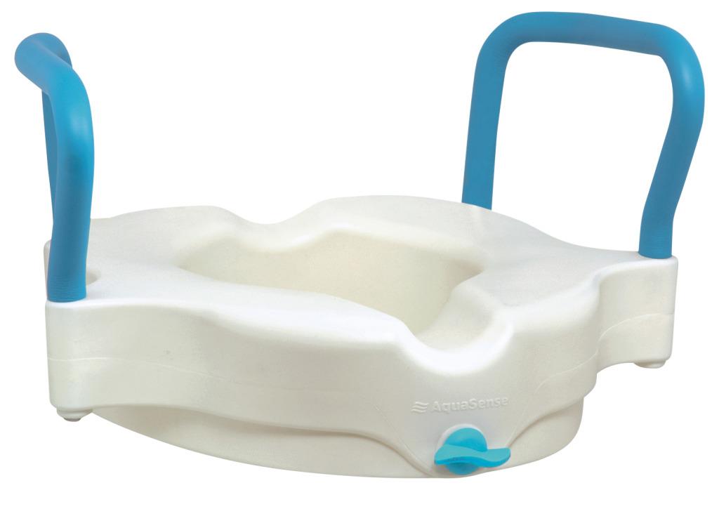 Awe Inspiring Aquasense 3 In 1 Contoured Raised Toilet Seat Forskolin Free Trial Chair Design Images Forskolin Free Trialorg